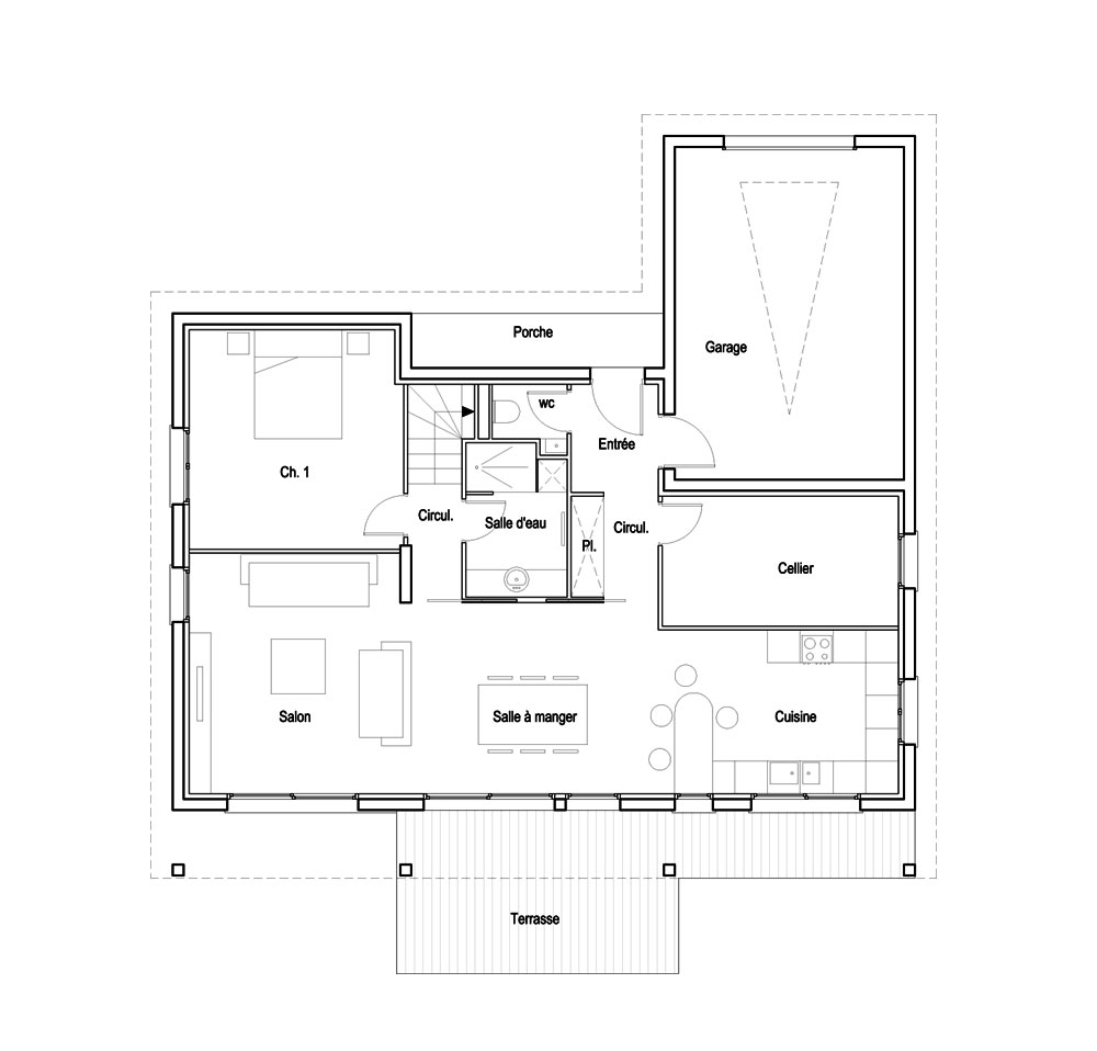 Plan de maison 500m2 for Plan de construction de maison en ligne