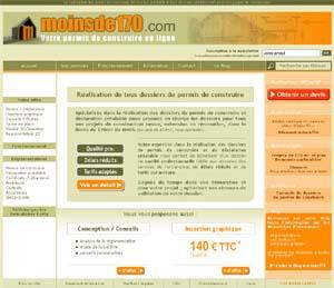 Page d'accueil www.moinsde170.com