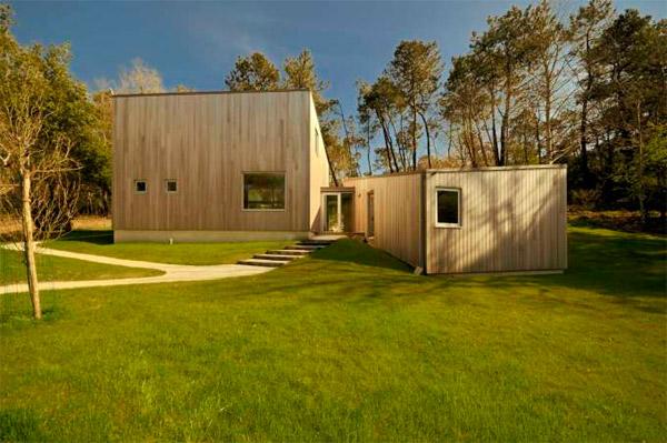 Maison bois - Michel Grignou architecte