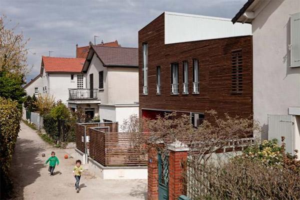 """""""L'aventure intérieure"""" - croixmariebourdon architectures - Côté rue"""